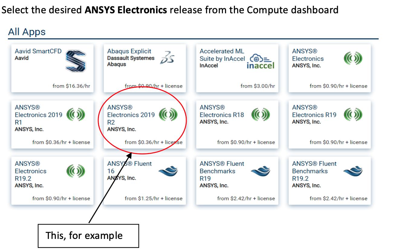 How to Run Ansys HFSS (Electronics) on Nimbix – Nimbix